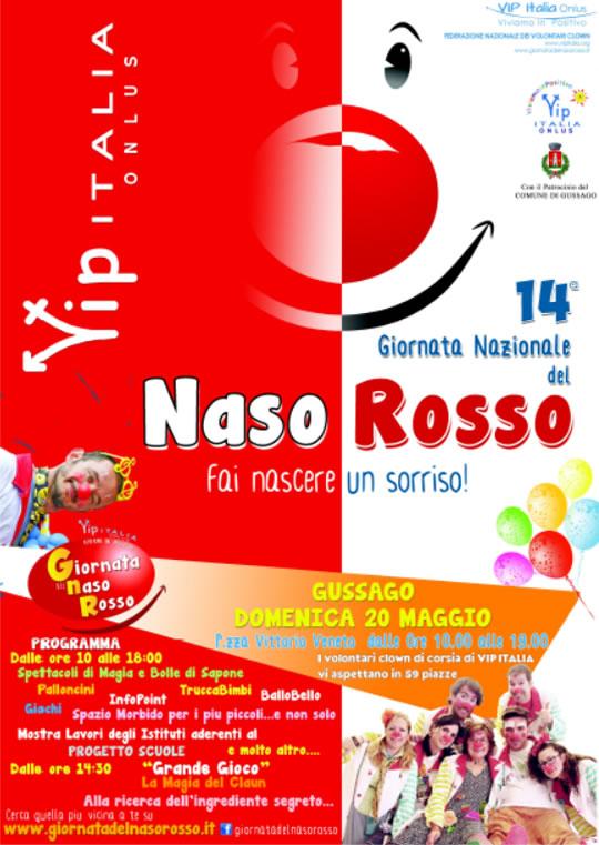 Giornata del Naso Rosso a Gussago
