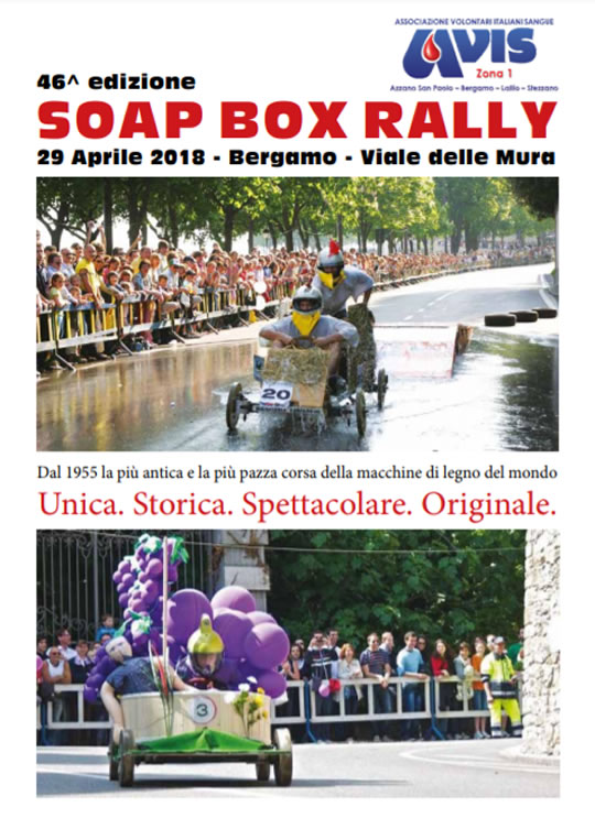 Soap Box Rally a Bergamo