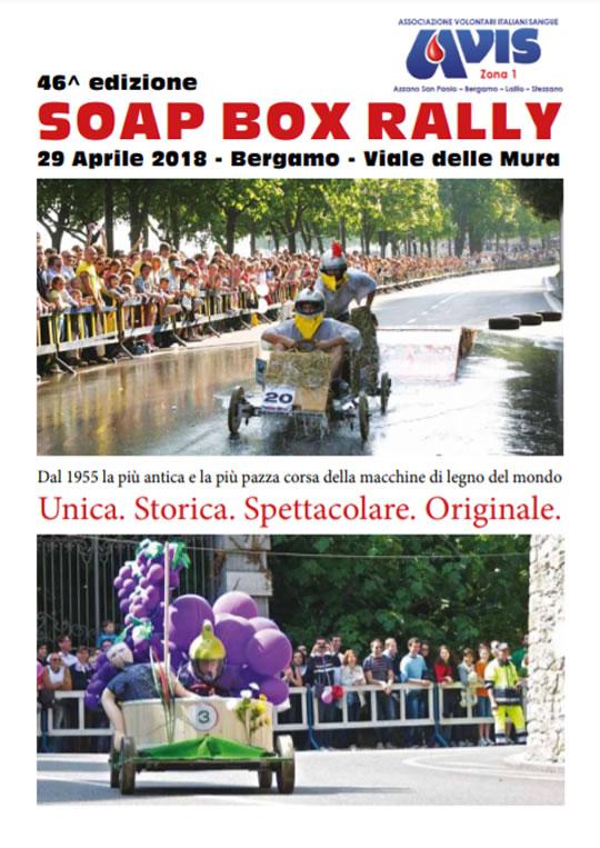 Soap Box Rally a Bergamo