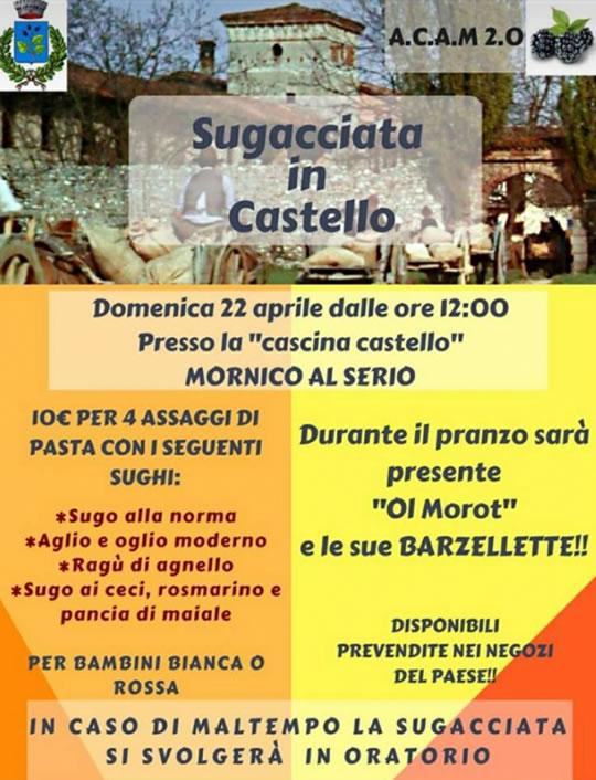 Sugucciata in Castello a Monrico al Serio BG