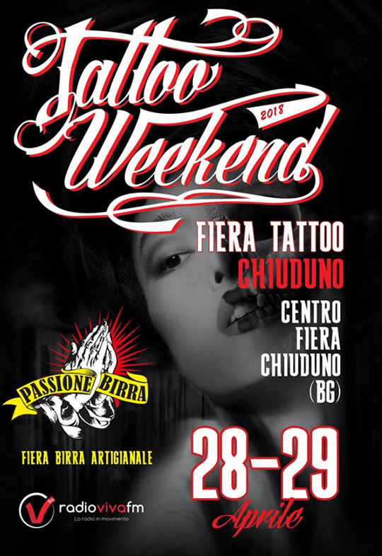 Tattoo Weekend a Chiuduno BG