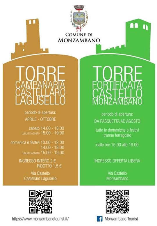 Visite alla Torri di Castellaro Lagusello e Monzambano