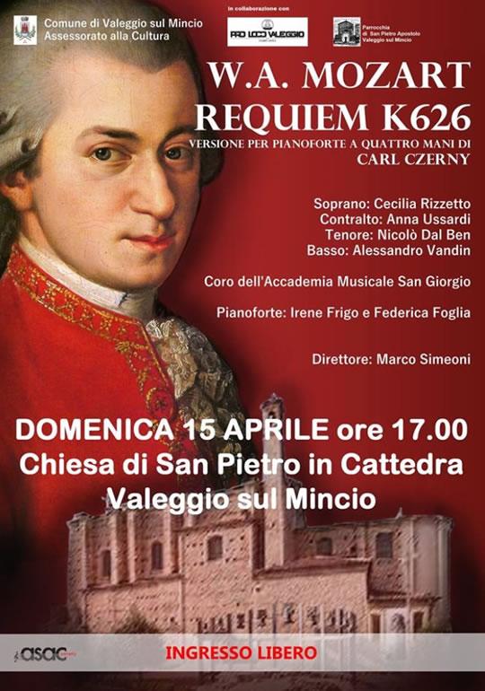 W.A. Mozart Requiem K626 a Valeggio sul Mincio
