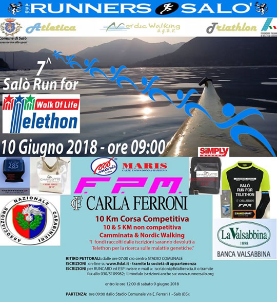 7 Salò Run for Telethon
