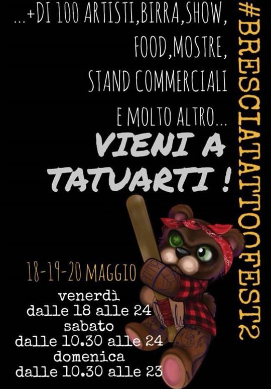 Brescia Tattoo Fest a Montichiari