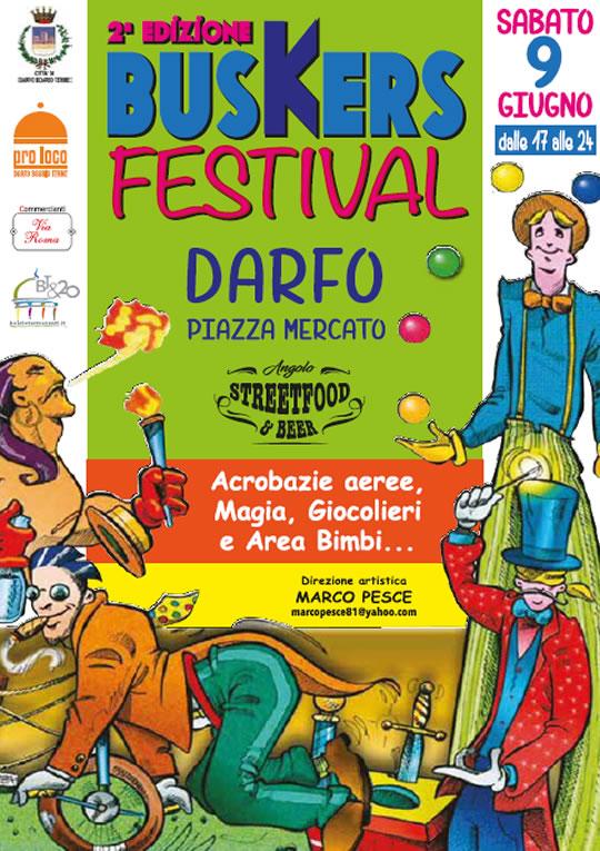 Buskers Festival a Darfo