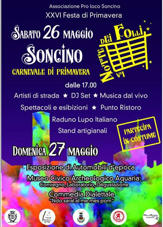 Carnevale di Primavera a Soncino
