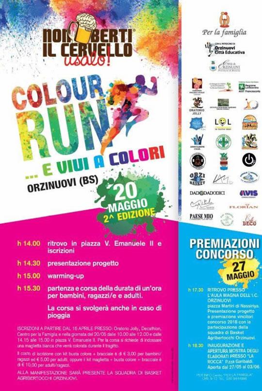 Colour Run... e vivi a colori a Orzinuovi