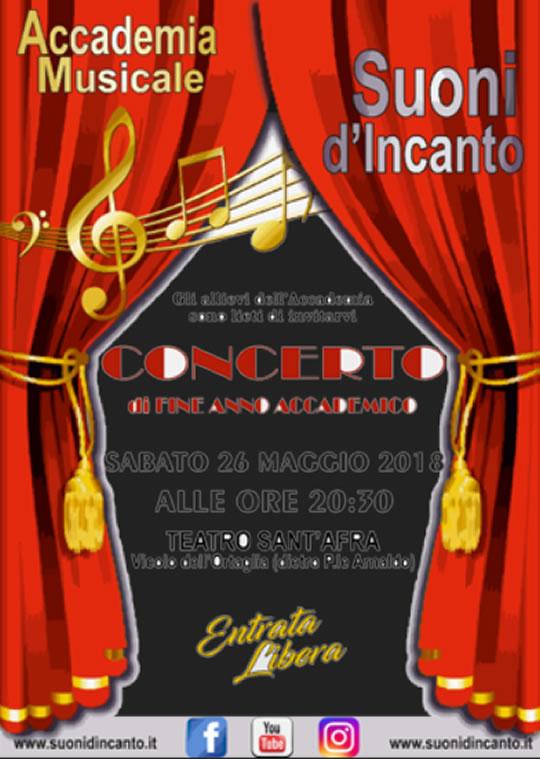 Concerto di Fine Anno Accademico a Brescia