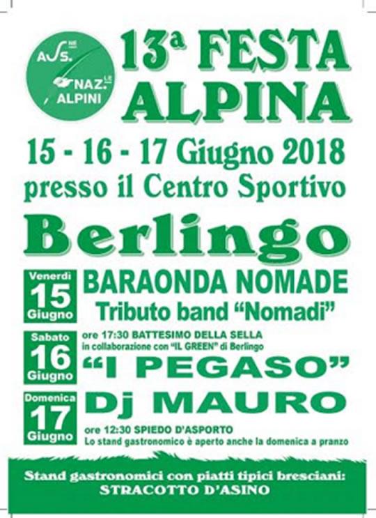 Festa Alpina a Berlingo