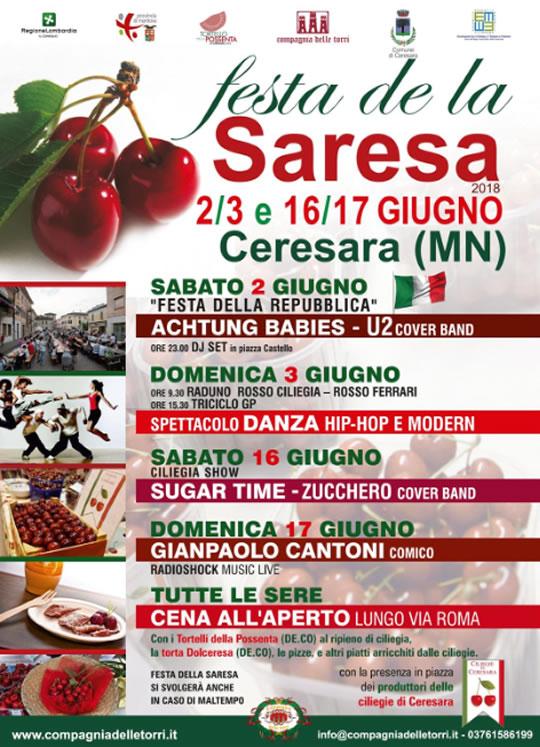 Festa de la Saresa – Ceresara (Mantova)