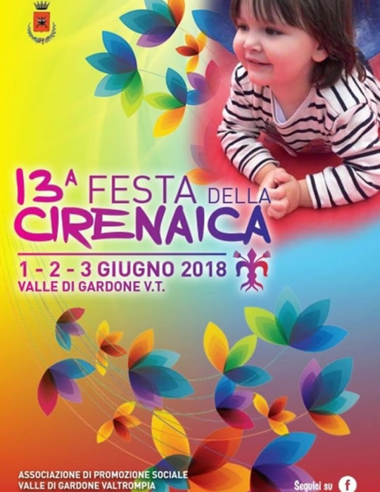 Festa della Cirenaica a Valle di Gardone VT