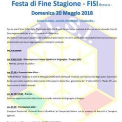 Festa di Fine Stagione FISI a Grignaghe di Pisogne