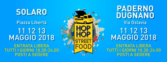 Hop Hop Street Food a Paderno Dugnano