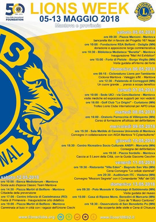 Lions Week a Mantova