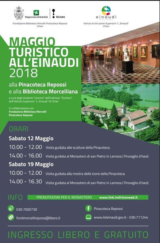 Maggio Turistico all'Einaudi di Chiari