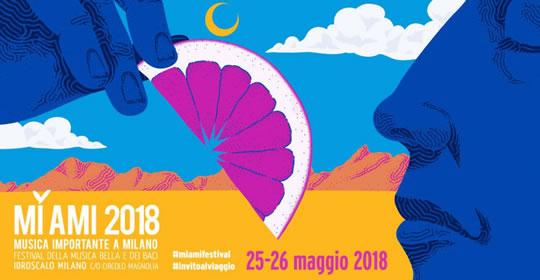 Mi Ami 2018 a Milano