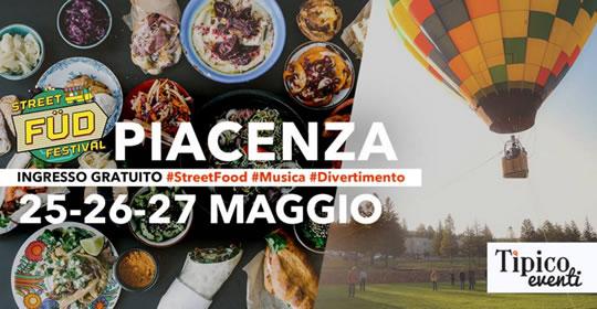 Mongolfiera in città a Piacenza