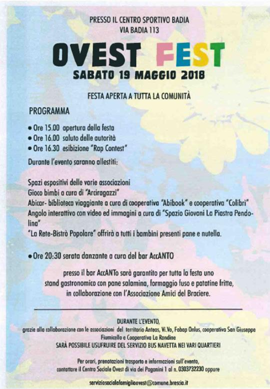Ovest Fest a Brescia
