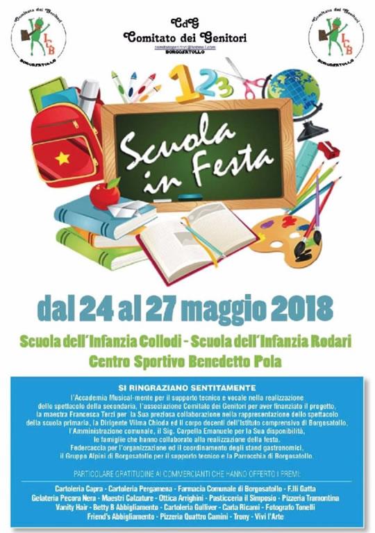 Scuola in Festa a Borgosatollo
