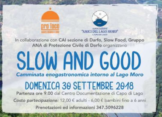 Slow and Good a Darfo Boario Terme