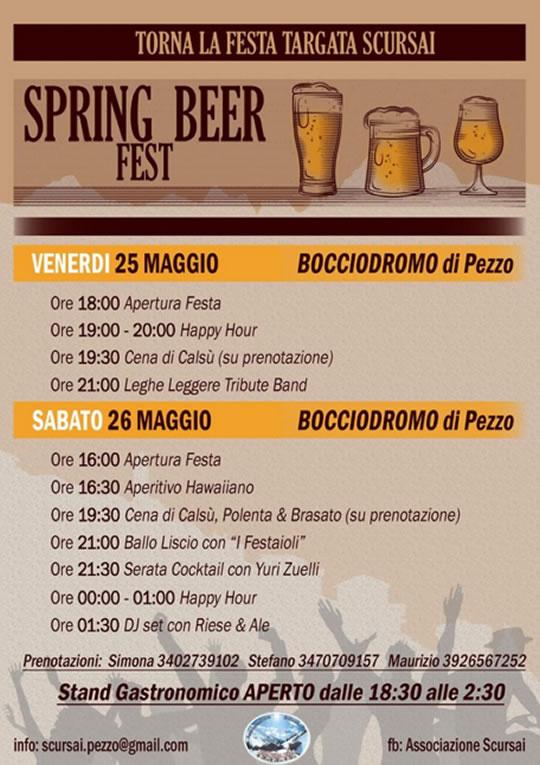 Spring Beer Fest a Ponte di Legno Spring Beer Fest a Ponte di Legno