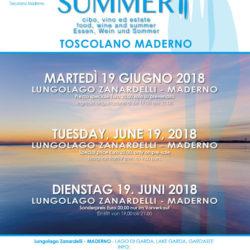 Taste of Summer a Toscolano Maderno