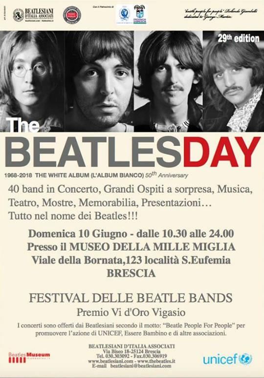 The Beatles Day a Brescia