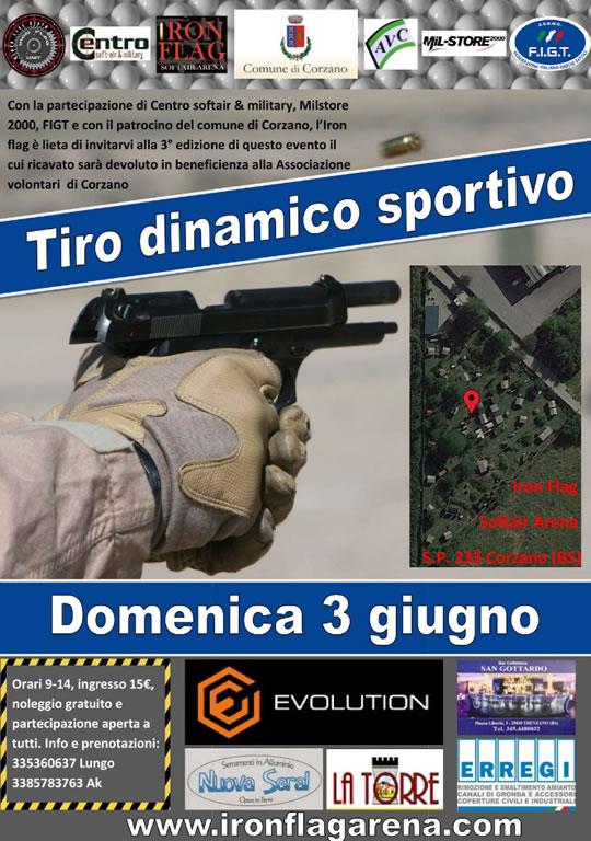 Tiro dinamico softair a Corzano