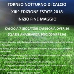 Torneo Notturno di Calcio a Pontoglio