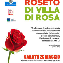 Visita al Roseto di Villa di Rosa a Manerbio
