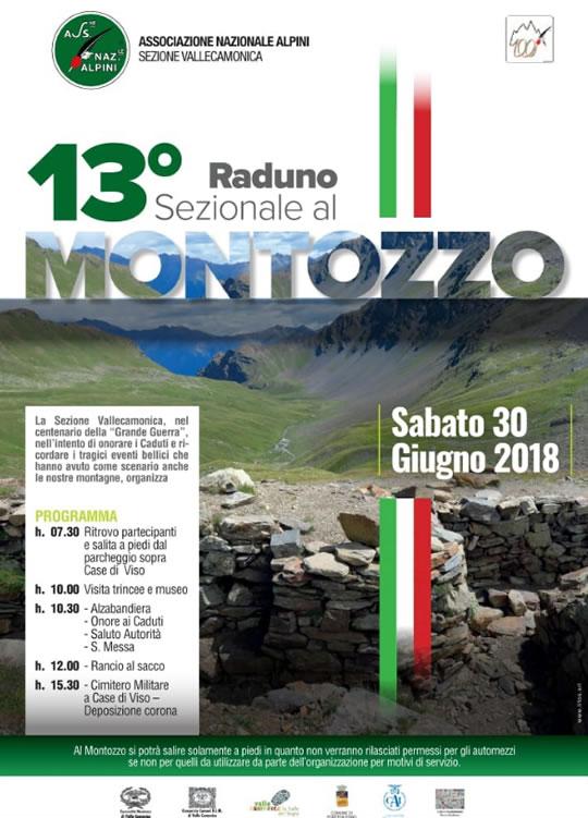 13 Raduno Sezionale Alpini al Montozzo Case di Viso