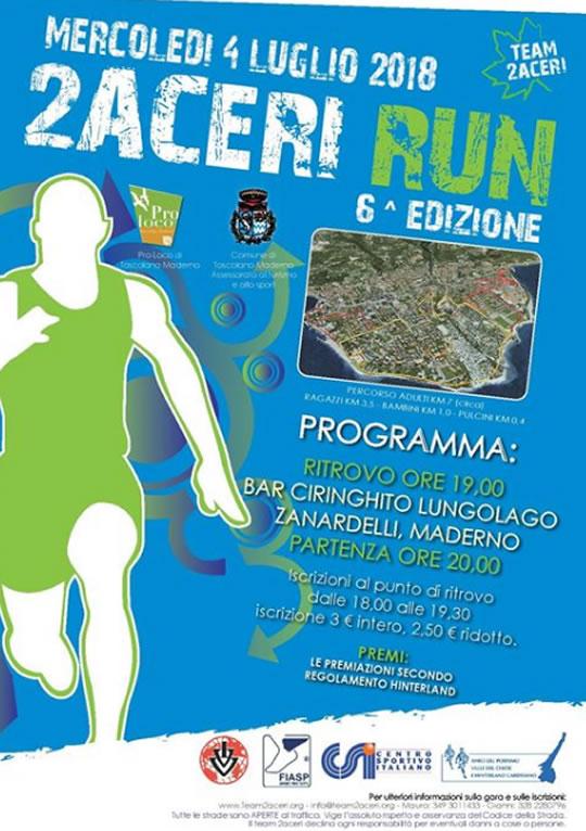 2 Aceri Run a Toscolano Maderno