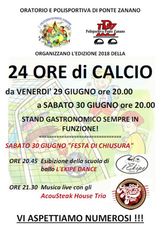 24 Ore di Calcio a Ponte Zanano di Sarezzo