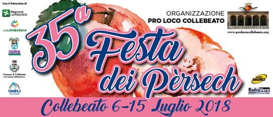 35° Festa dei Pèrsech a Collebeato