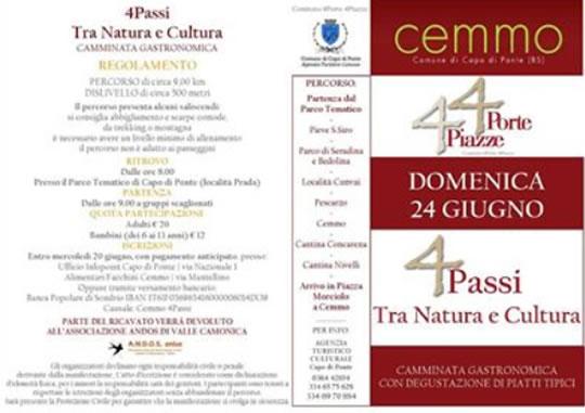 4 Passi tra Natura e Cultura a Cemmo