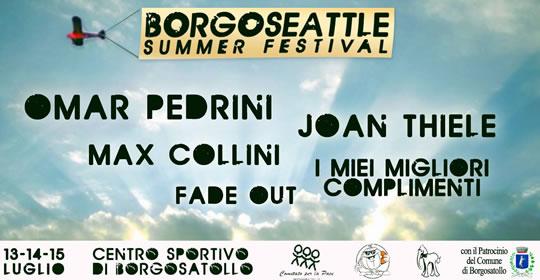 Borgoseattle Summer Festival a Borgosatollo