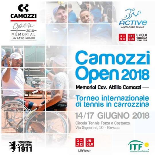 Camozzi Open 2018 a Brescia