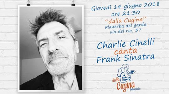Charlie Cinelli canta Frank Sinatra a Manerba