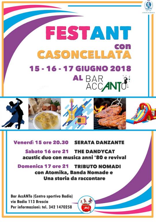 FestAnt con Casoncellata a Brescia