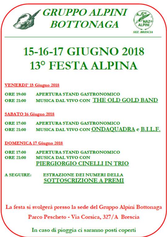 Festa Alpina a Brescia