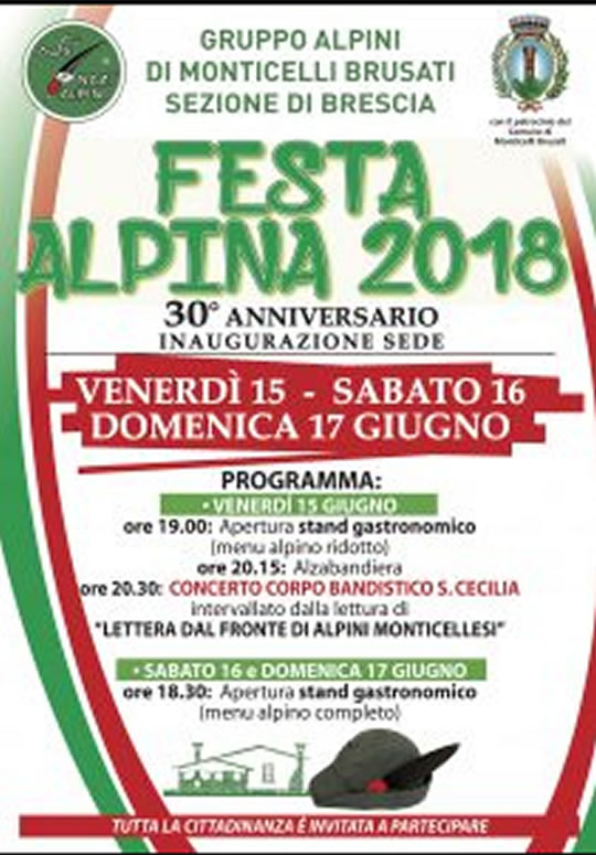 Festa Alpina a Monticelli Brusati