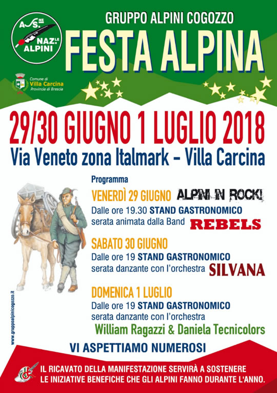 Festa Alpina a Villa Carcina
