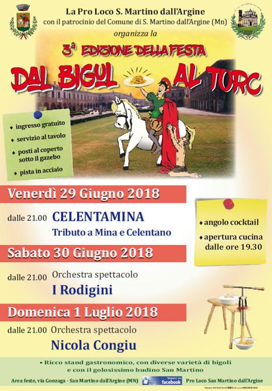 Festa dal Bìgul Al Torc a San Martino dell'Argine MN