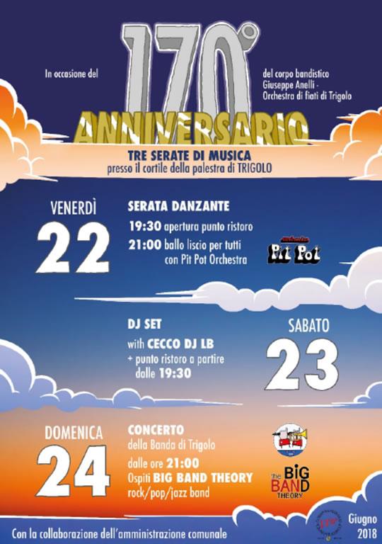Festa del 170° Banda di Trigolo CR
