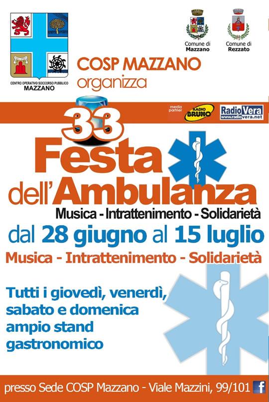 Festa dell'Ambulanza a Mazzano