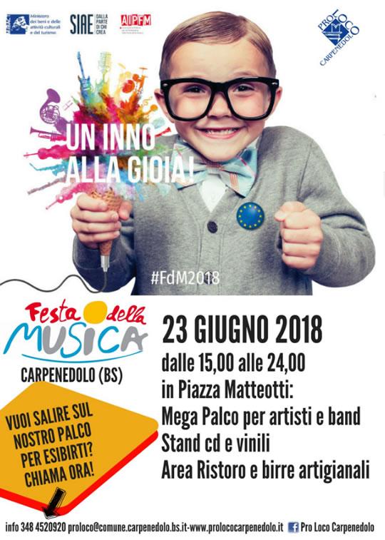 Festa della Musica a Carpenedolo