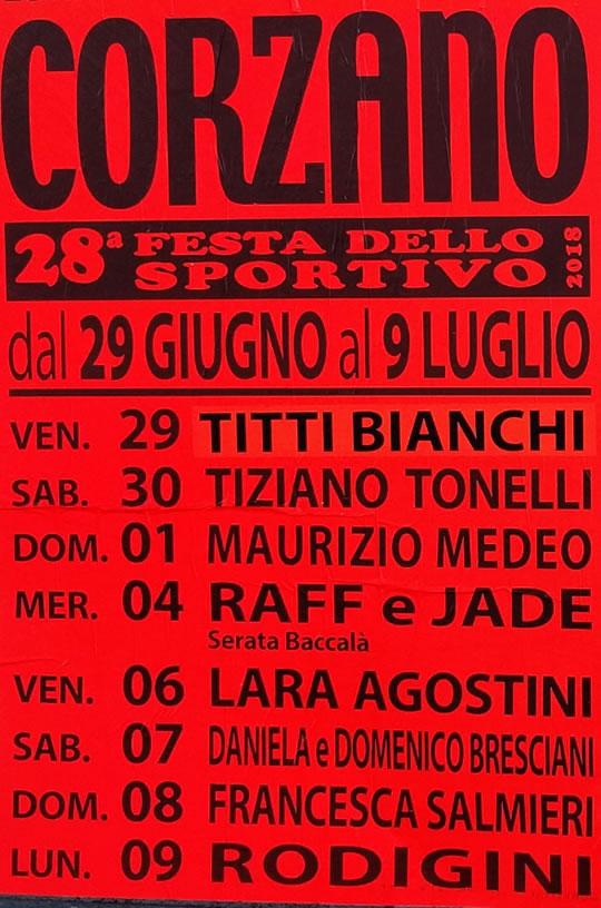 Festa dello Sportivo a Corzano