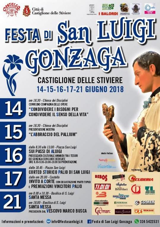 Festa di San Luigi Gonzaga a Castiglione delle Stiviere MN