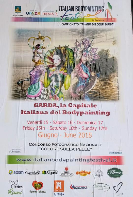 Garda La Capitale Italiana del Bodypainting